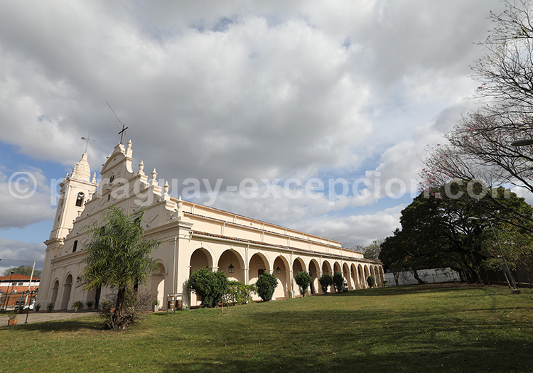 Visite de l'église de la Santísima Trinidad