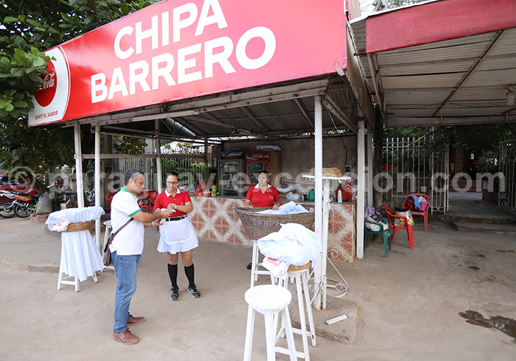 La chipa Barrero au Paraguay
