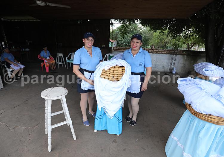 Vendeuses de Chipa du Paraguay