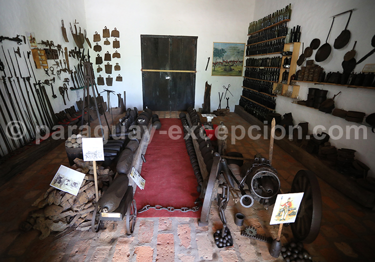 Musée sur l'histoire de la Triple Alliance, Paso de Patria, Paraguay