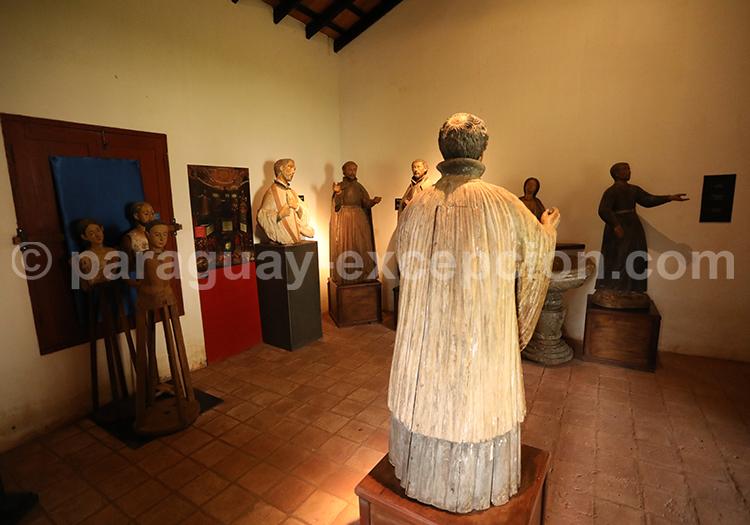 Galerie d'art jésuite à Santiago, Paraguay