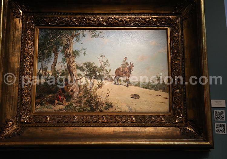 Peinture musée des Beaux Arts d'Asuncion