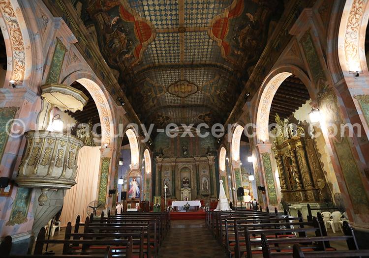 Eglise de Santisima Trinidad, plus belle de la capitale
