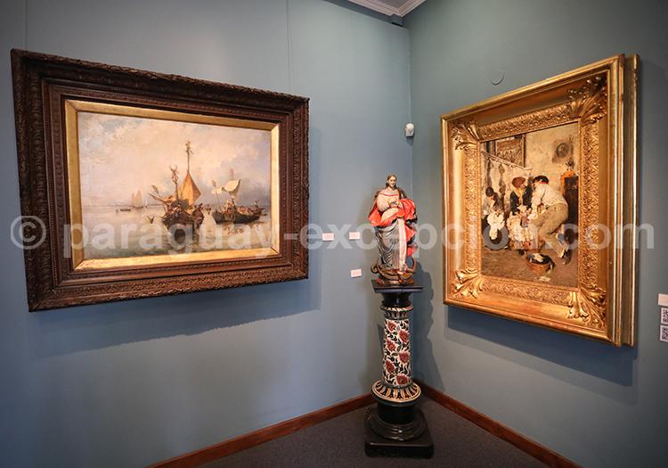 Visite guidée musée des Beaux Arts d'Asuncion