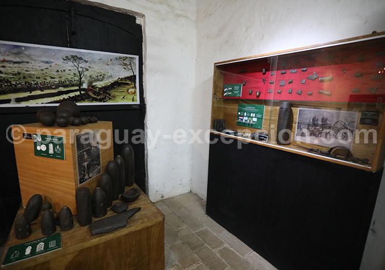 Exposition des objets de la guerre contre la triple alliance, Paraguay