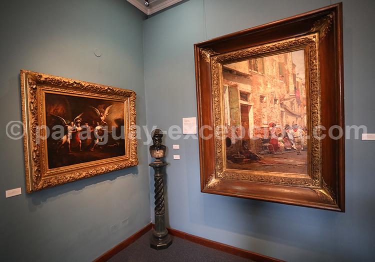 Visite en français du musée des Beaux Arts d'Asuncion