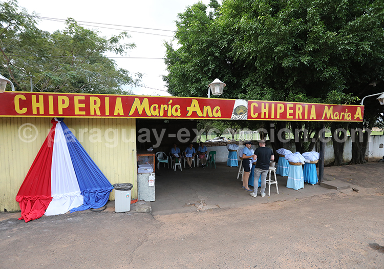 Chiperia de Maria Ana au Paraguay