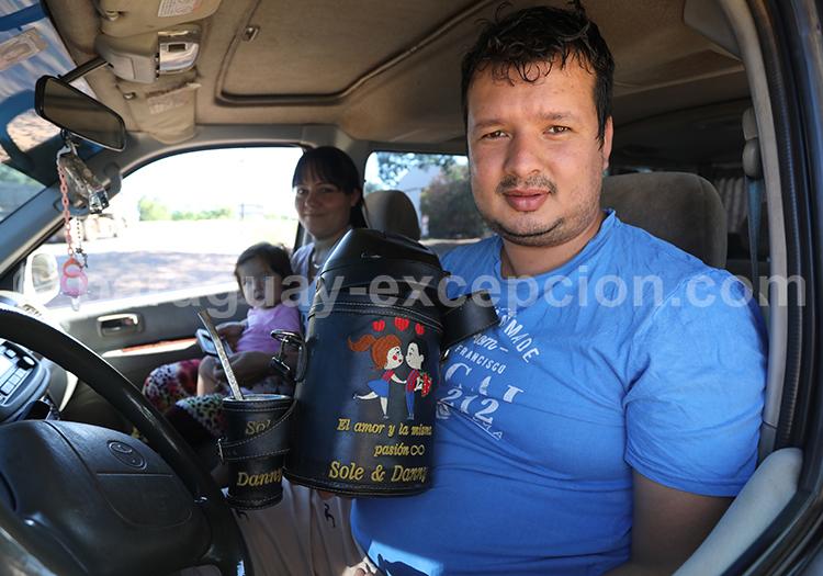Paraguayen de la région Yvy, Paraguay