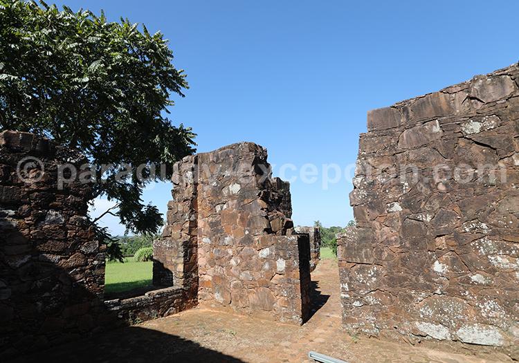 A la découverte des ruines de la Santisima Trinidad del Parana, Paraguay