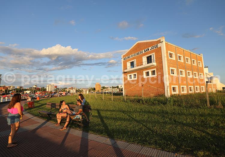 Le moulin d'Encarnación, Paraguay