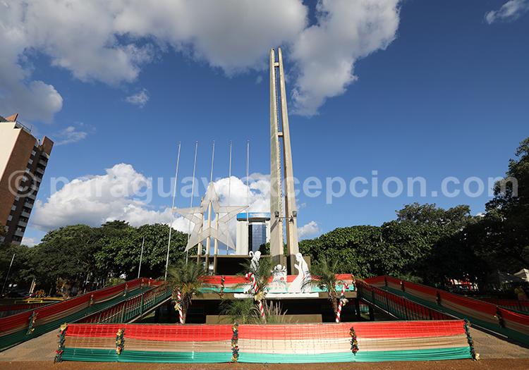 Centre ville d'Encarnación, Paraguay