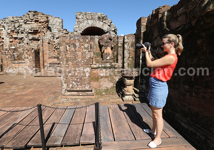 Immortaliser les ruines jésuites du Paraguay, Santisima Trinidad