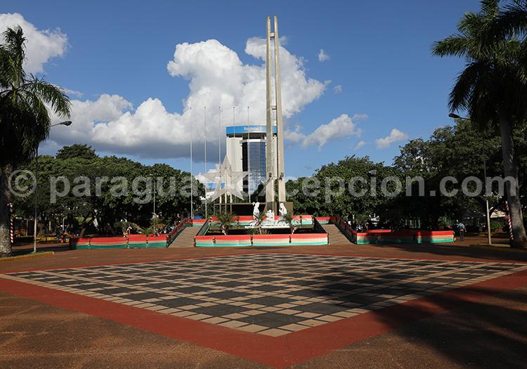 Centre de la ville d'Encarnación