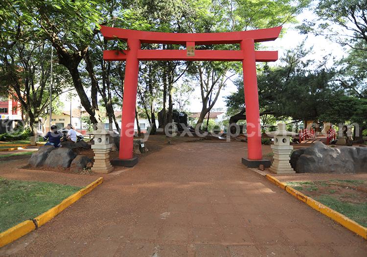 Jardin japonais de la ville d'Encarnación