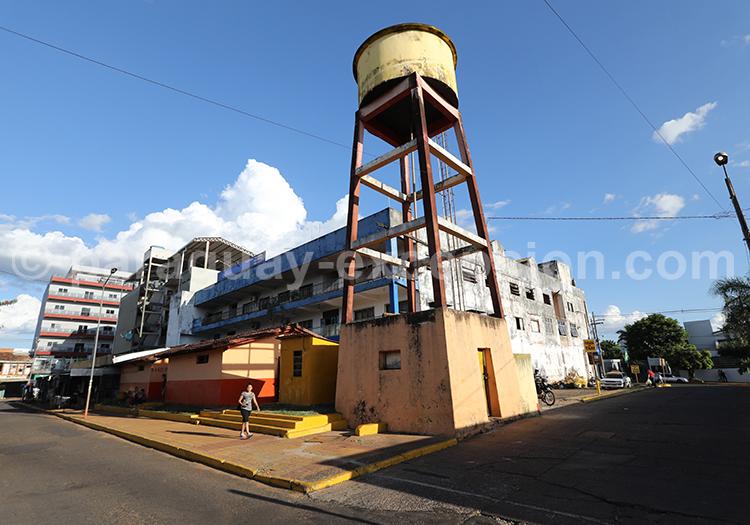 Ville d'Encarnación, ville du sud du Paraguay