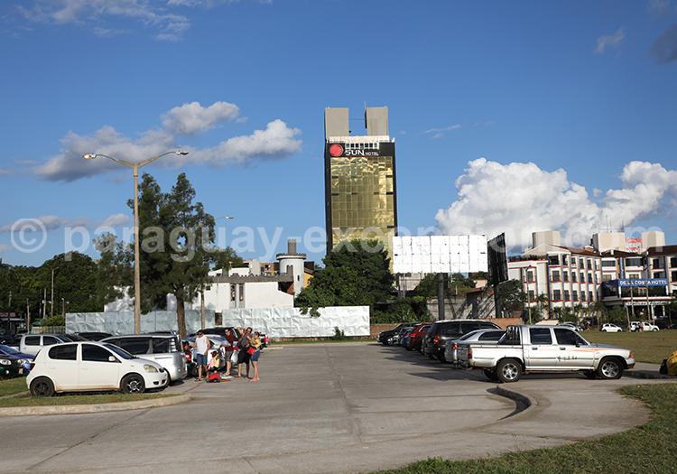 Les hotels de la ville d'Encarnación, Paraguay