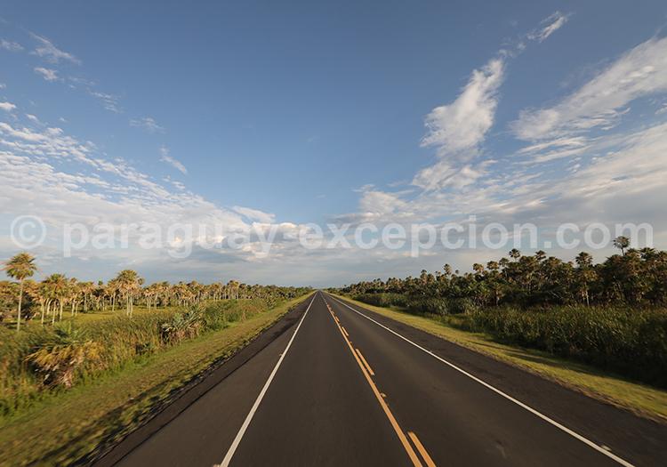 Les autoroutes du Paraguay, yvy