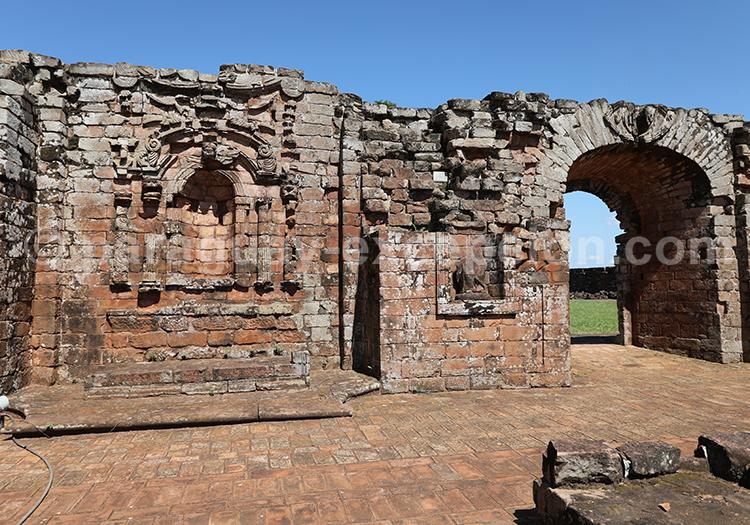 Ruines des missions jésuites de la Santisima Trinidad del Parana