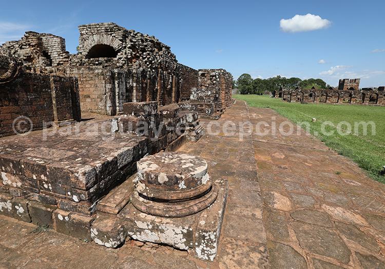 Le Paraguay, meilleur pays dans la conservation des missions jésuites, Santisima Trinidad del Parana
