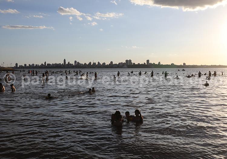 Profiter de l'été au Paraguay, Encarnación