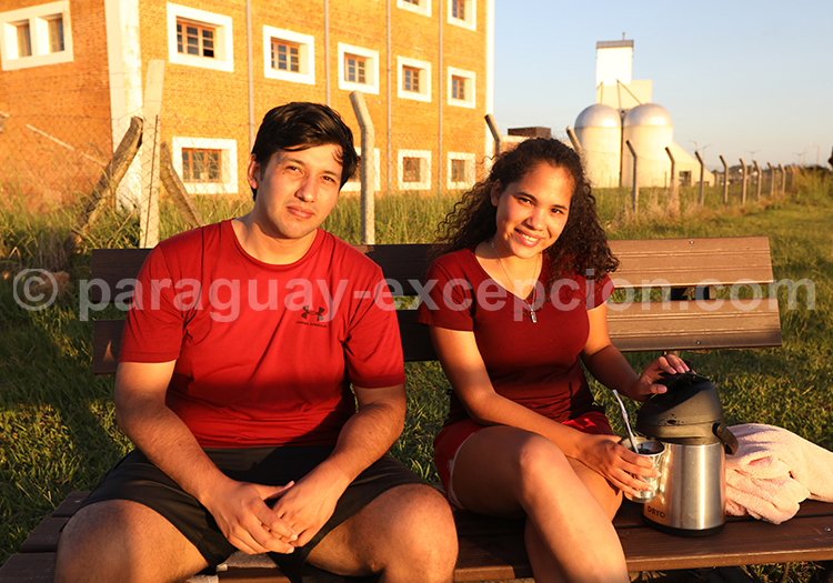 L'heure du téréré au Paraguay