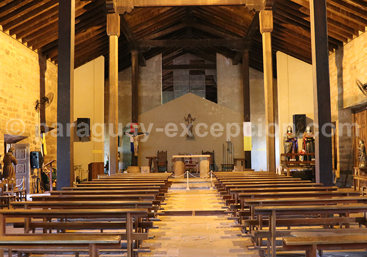 Visiter l'église de la mission jésuite de San Cosme y Damian, Paraguay