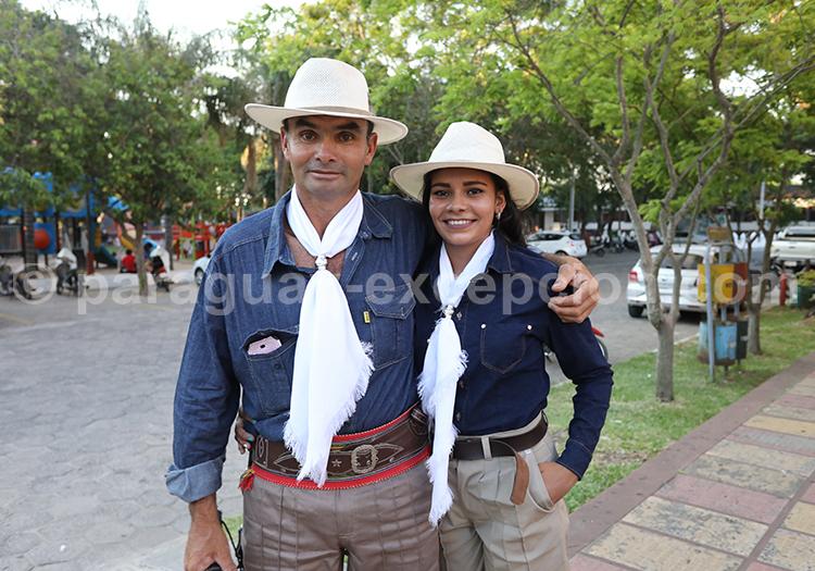 Gaucho de la région Yvy, Paraguay