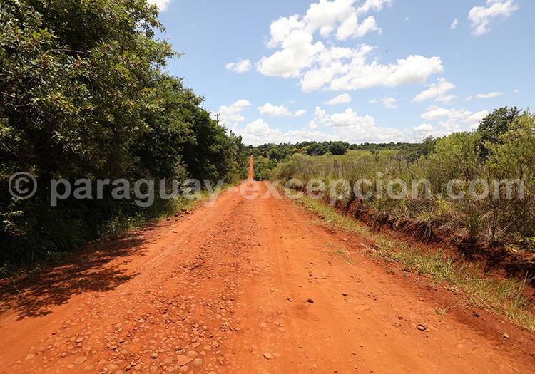 Richesse de la terre ocre du Paraguay, Yvy