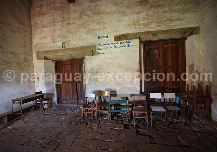 Les missions jésuites au Paraguay, San Cosme y Damian
