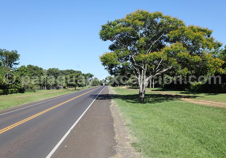 Route de la région Yvy, Paraguay