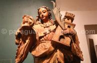 Art jésuite en bois, sculpture