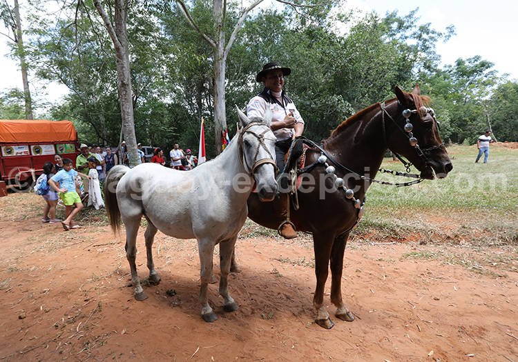 Elevage de chevaux, Yvy, Paraguay
