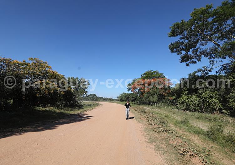 Faire de la route au Paraguay