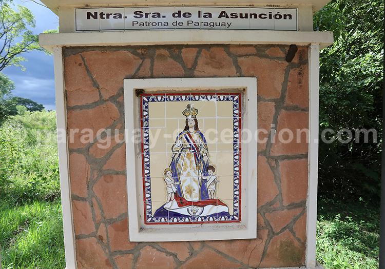 Route des vierges patronnes nationales, Encarnación, Paraguay, Nuestra Señora de la Asunción