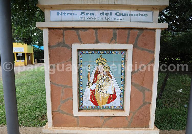 Route des vierges patronnes nationales, Encarnación, Paraguay, Nuestra Señora del Quinche