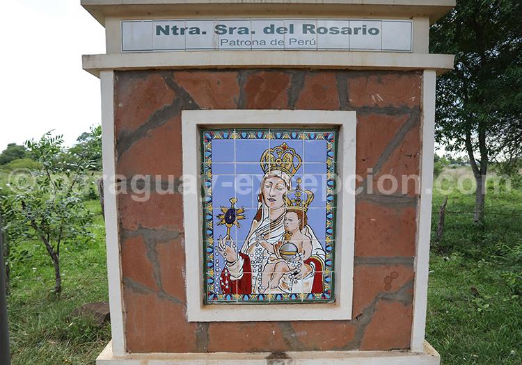 Route des vierges patronnes nationales, Encarnación, Paraguay, Nuestra Señora del Rosario