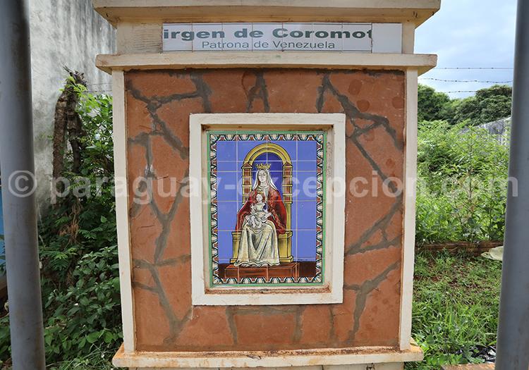 Route des vierges patronnes nationales, Encarnación, Paraguay, Vierge Comoroto