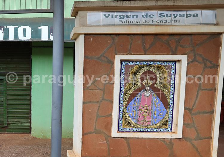 Route des vierges patronnes nationales, Encarnación, Paraguay, Vierge Suyapa