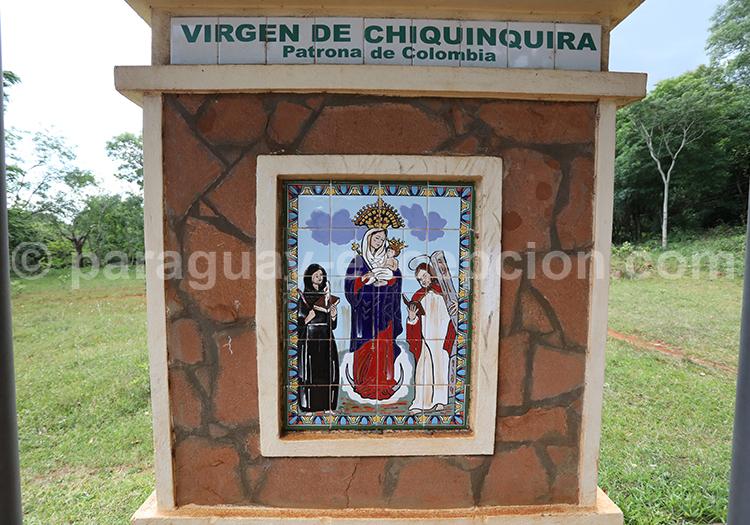 Route des vierges patronnes nationales, Encarnación, Paraguay, Vierge de Chiquinquira