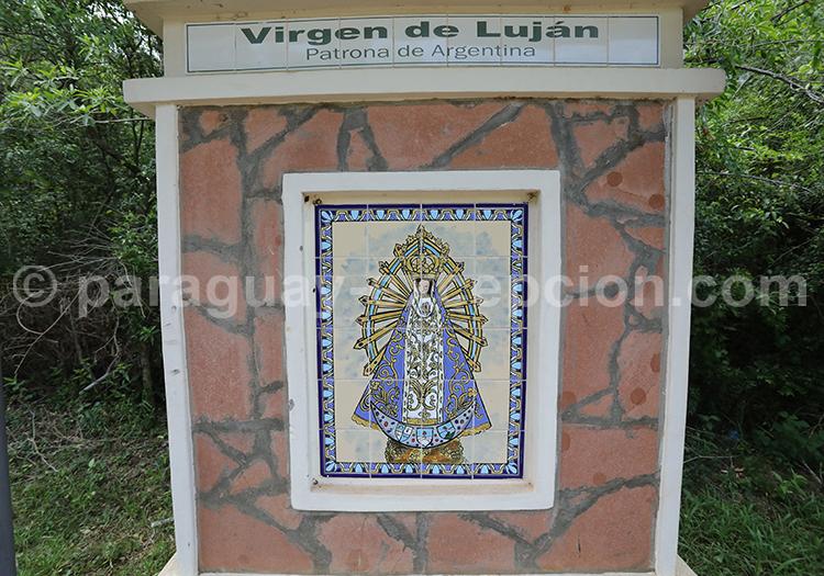 Route des vierges patronnes nationales, Encarnación, Paraguay, Vierge de Luján