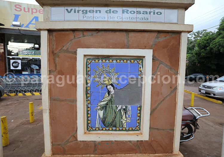Route des vierges patronnes nationales, Encarnación, Paraguay, Vierge de Rosario