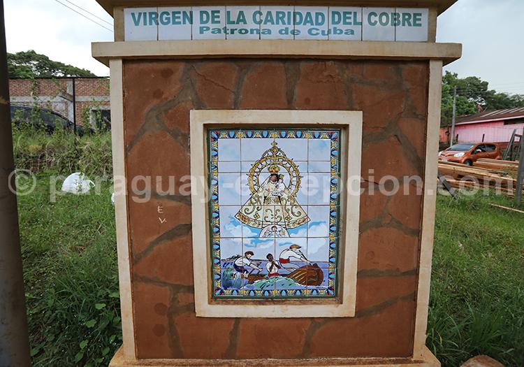 Route des vierges patronnes nationales, Encarnación, Paraguay, Vierge de la Caridad del Cobre