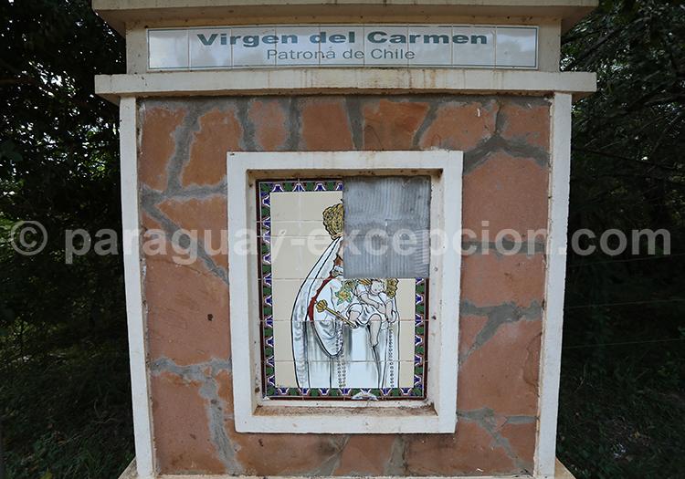 Route des vierges patronnes nationales, Encarnación, Paraguay, Vierge del Carmen