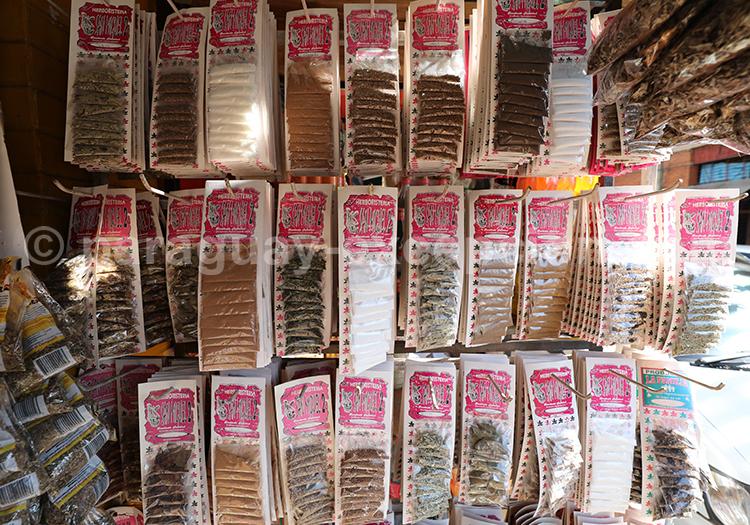 Epices du Paraguay, marché Abasto, Ciudad del Este