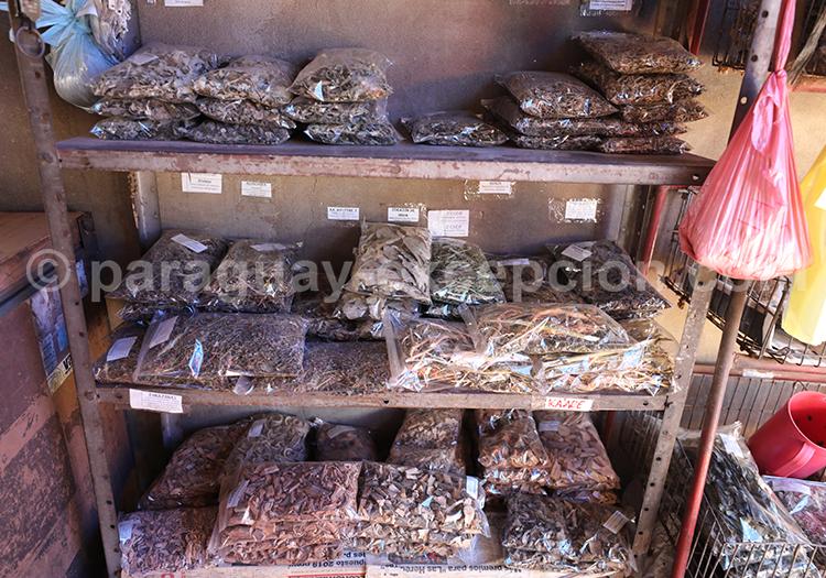 Sachet de noix au marché Abasto, Ciudad del Este