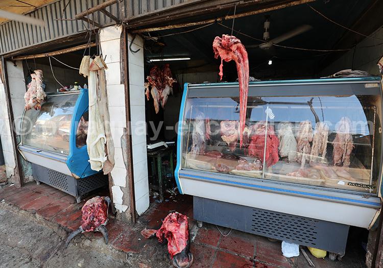 Boucherie au Paraguay, Ciudad del Este, Abasto