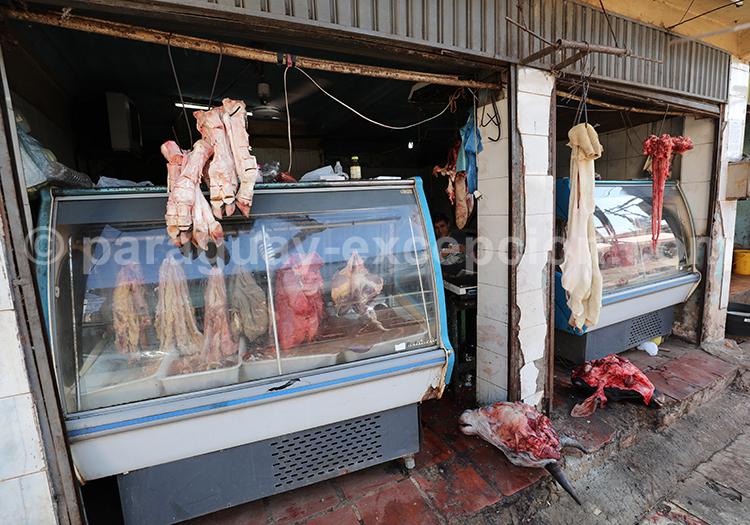 Où acheter de la viande à Ciudad del Este, marché Abasto