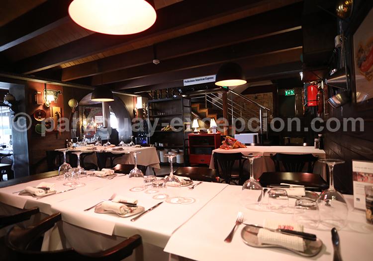 La Cabrera, restaurant de la ville d'Asunción au Paraguay