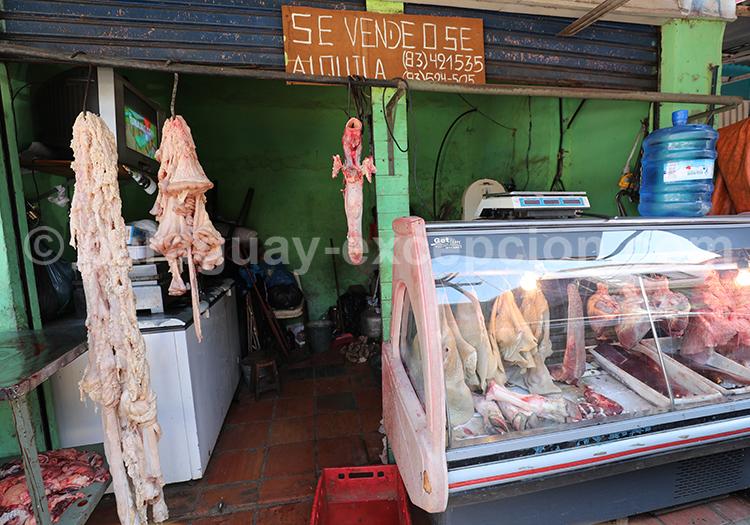 Quels morceaux manger au Paraguay, marché Abasto, Paraguay