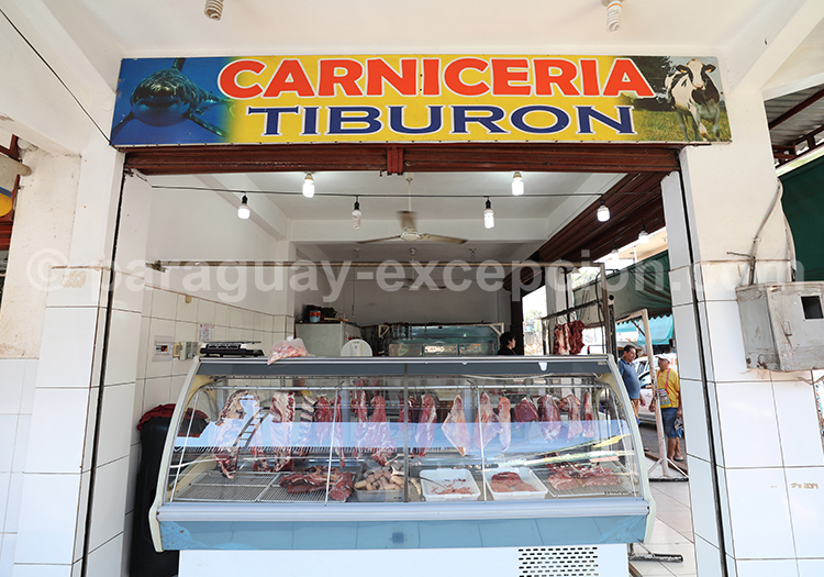 Carniceria du Paraguay, marché Abasto, Ciudad del Este